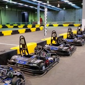 Indoor Go Karts.
