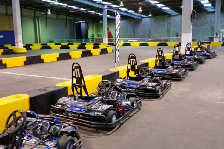 Indoor Go Karts.